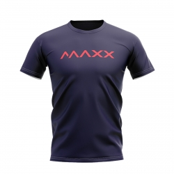 MAXX Shirt New Plain Tee MX-NV05 Dark Blue