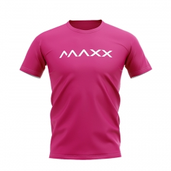MAXX Shirt New Plain Tee MX-NV10 Rose Pink