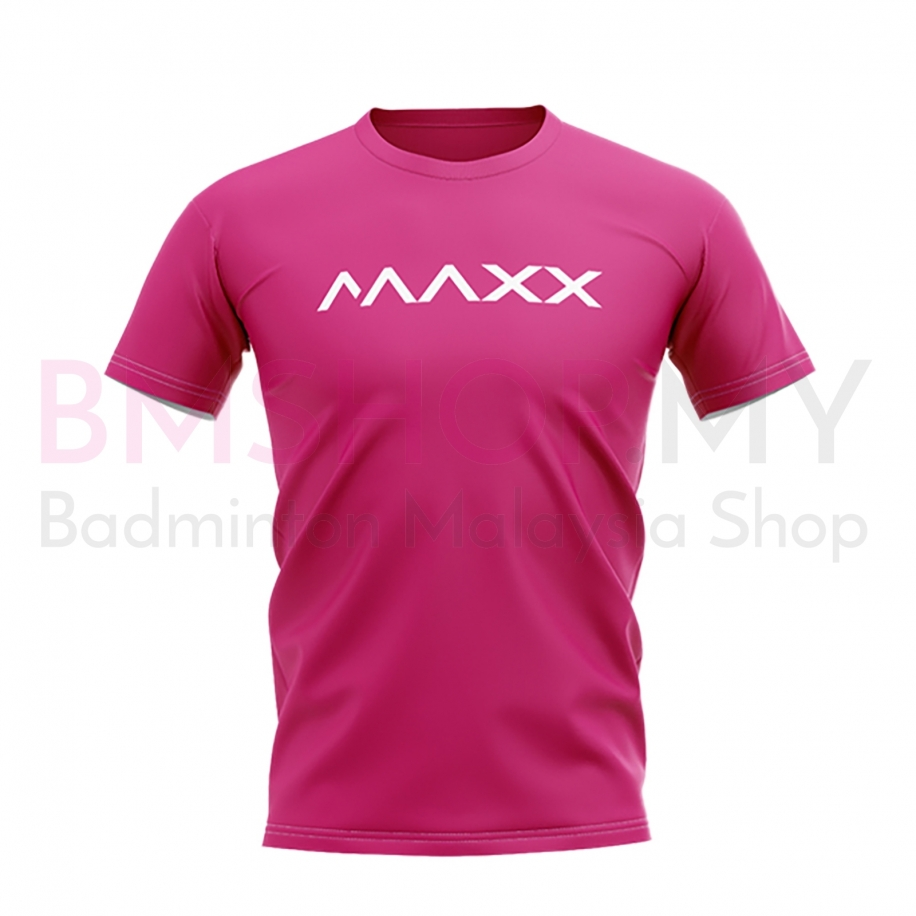 MAXX Shirt New Plain Tee MX-NV10 Rose Pink