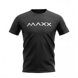 MAXX Shirt New Plain Tee MX-NV15 Black