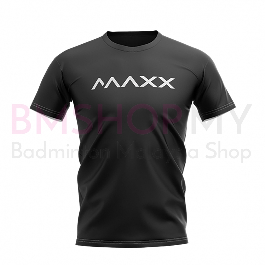 MAXX Shirt New Plain Tee MX-NV15 Black