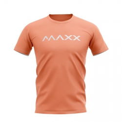 MAXX Shirt New Plain Tee MX-NV23 Peach