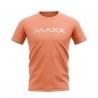 MAXX Shirt New Plain Tee MX-NV23 Peach