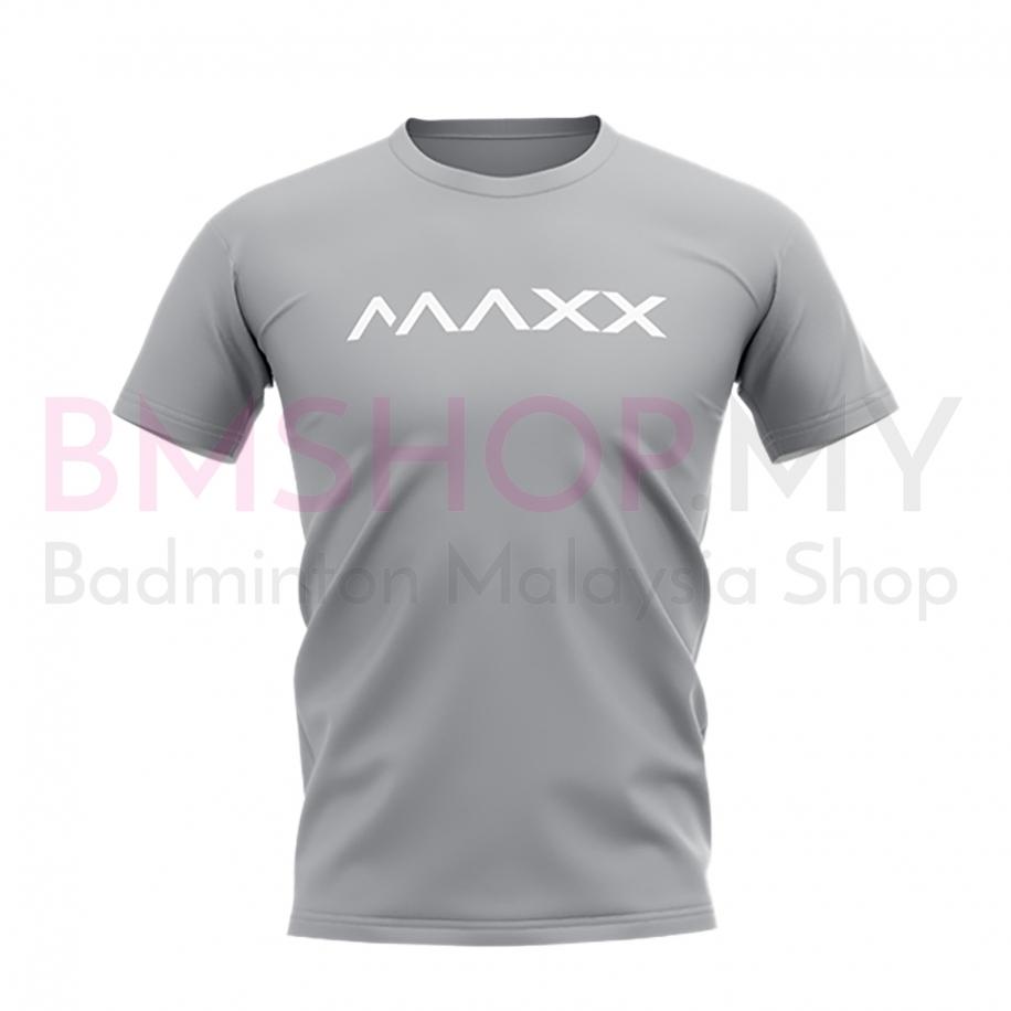 MAXX Shirt New Plain Tee MX-NV24 Light Grey