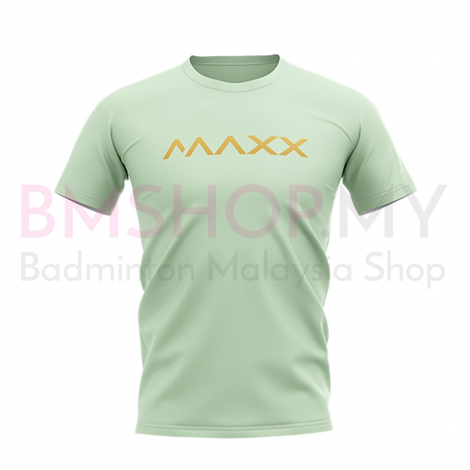 MAXX Shirt New Plain Tee MX-NV25 Sea Green