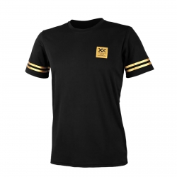 MAXX Shirt Graphic Tee MXFT026 Black/Gold