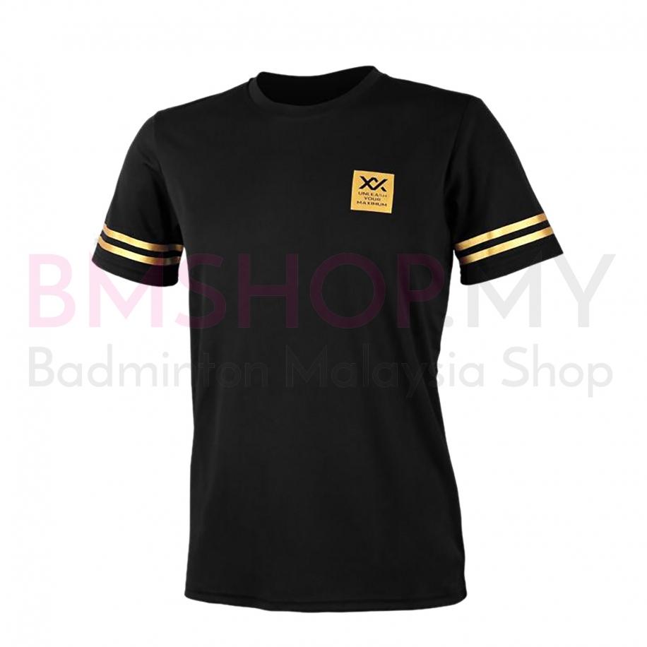 MAXX Shirt Graphic Tee MXFT026 Black/Gold