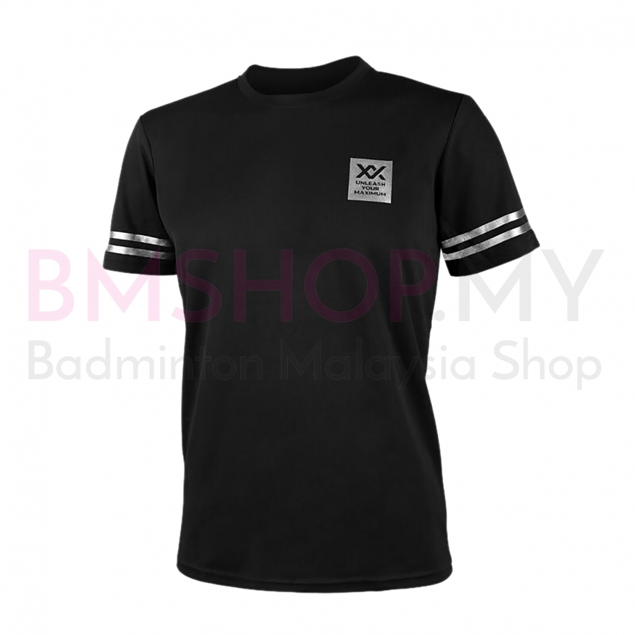 MAXX Shirt Graphic Tee MXFT026 Black/Silver