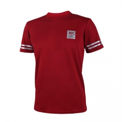 MAXX Shirt Graphic Tee MXGT026 Red/Silver