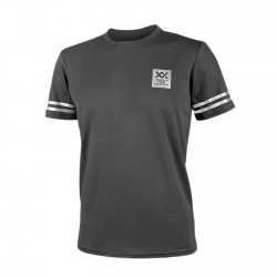 MAXX Shirt Graphic Tee MXFT026 Grey/Silver