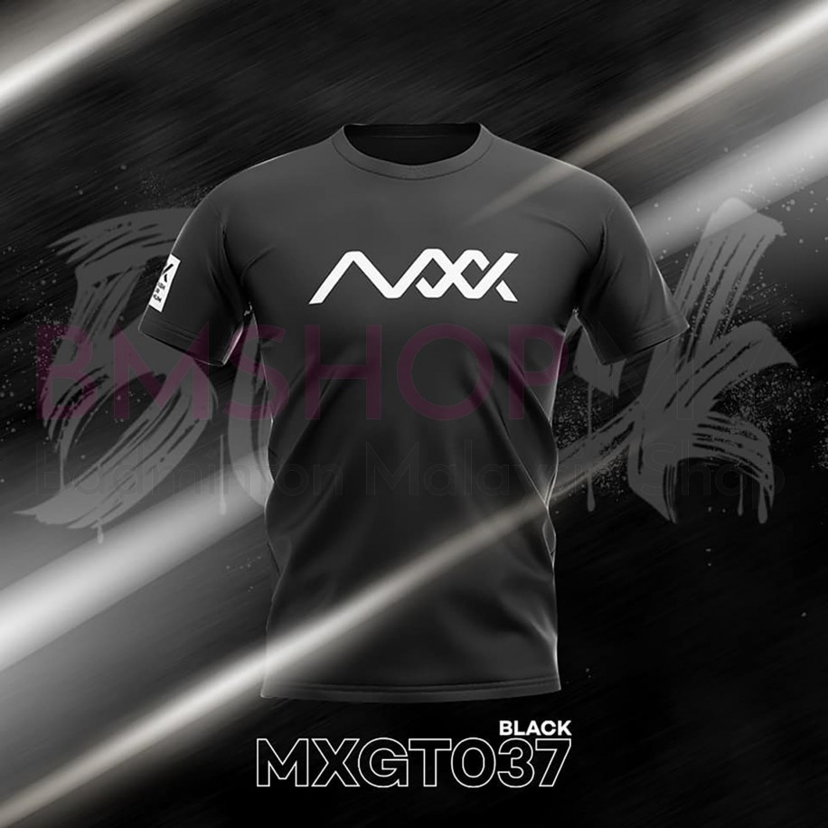 MAXX Shirt Fashion Tee MXGT037 Black