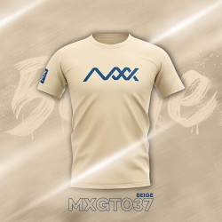 MAXX Shirt Fashion Tee MXGT037 Beige