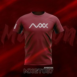 MAXX Shirt Fashion Tee MXGT037 Maroon