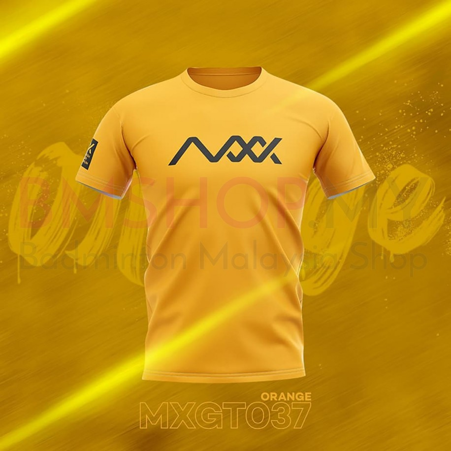 MAXX Shirt Fashion Tee MXGT037 Orange