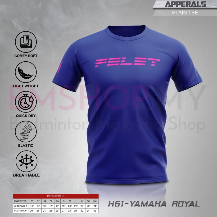 Felet Shirt H-61 Yamaha Royal Blue