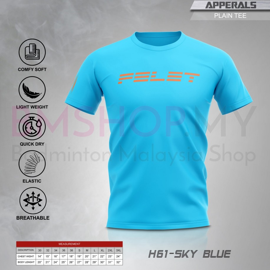 Felet Shirt H-61 Sky Blue