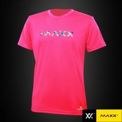 MAXX Shirt Graphic Tee MXGT013 Pink