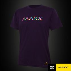 MAXX Shirt Graphic Tee MXGT013 Purple