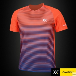 MAXX Shirt Fashion Tee MXFT038 Orange