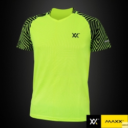 MAXX Shirt Fashion Tee MXFT039 Highlight Green