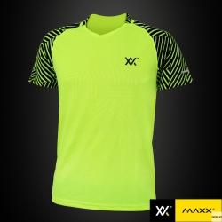 MAXX Shirt Fashion Tee MXFT039 Highlight Green