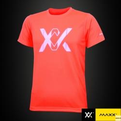 MAXX Shirt Plain Tee V4 MXPT007 Orange