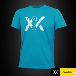 MAXX Shirt Plain Tee V4 MXPT011 Sky Blue