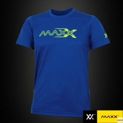 MAXX Shirt Plain Tee V5 MXPT003 Royal Blue