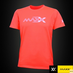 MAXX Shirt Plain Tee V5 MXPT007 Orange