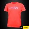 MAXX Shirt Plain Tee V5 MXPT007 Orange