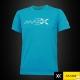 MAXX Shirt Plain Tee V5 MXPT011 Sky Blue