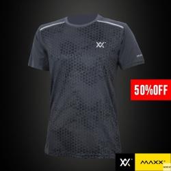 MAXX Shirt Fashion Tee MXFT024 Grey 50% OFF