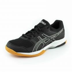 Asics Shoe Gel-Rocket 8 B706Y-9090 (Black/Black/White)