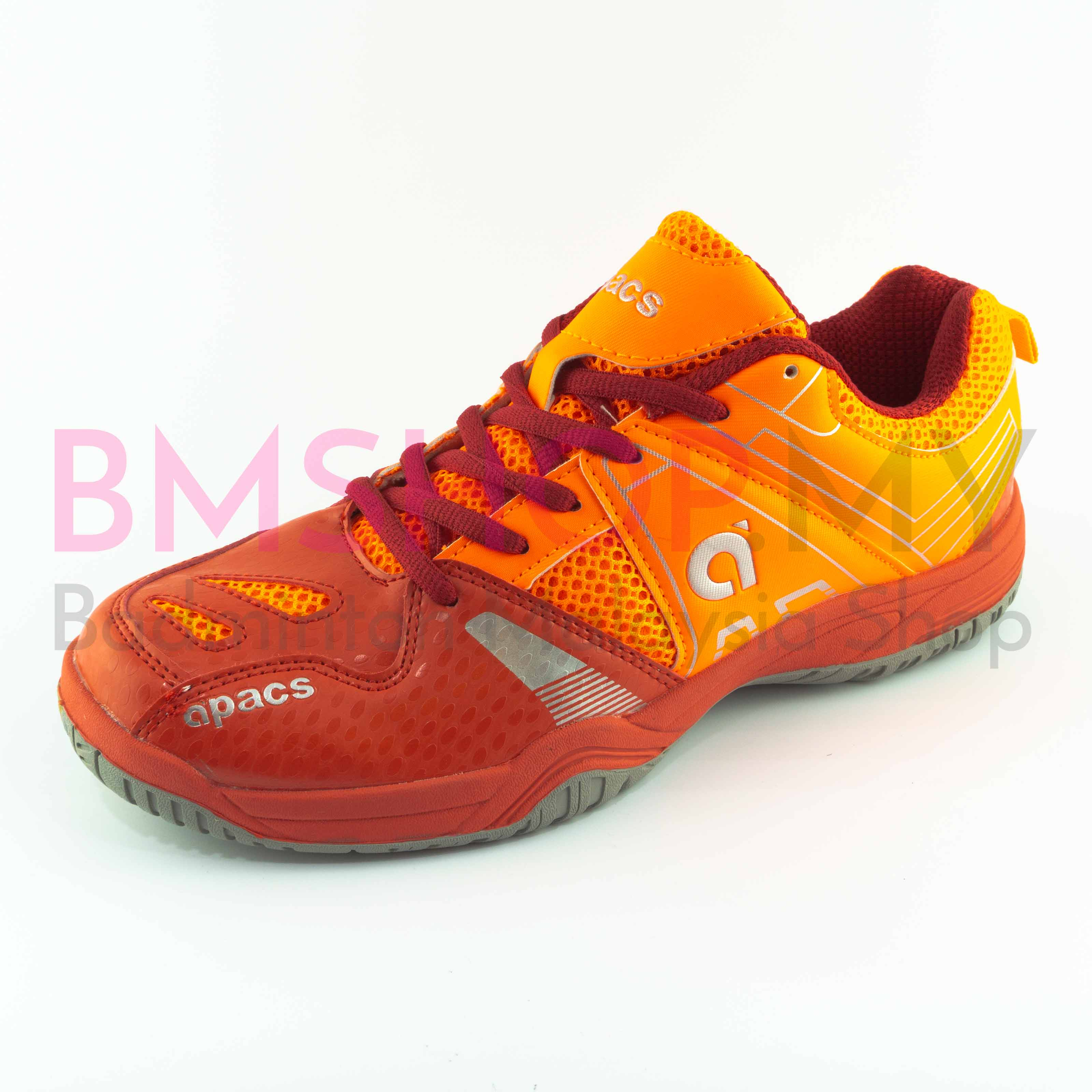 Apacs Shoe Cushion Power 207 Orange/Red