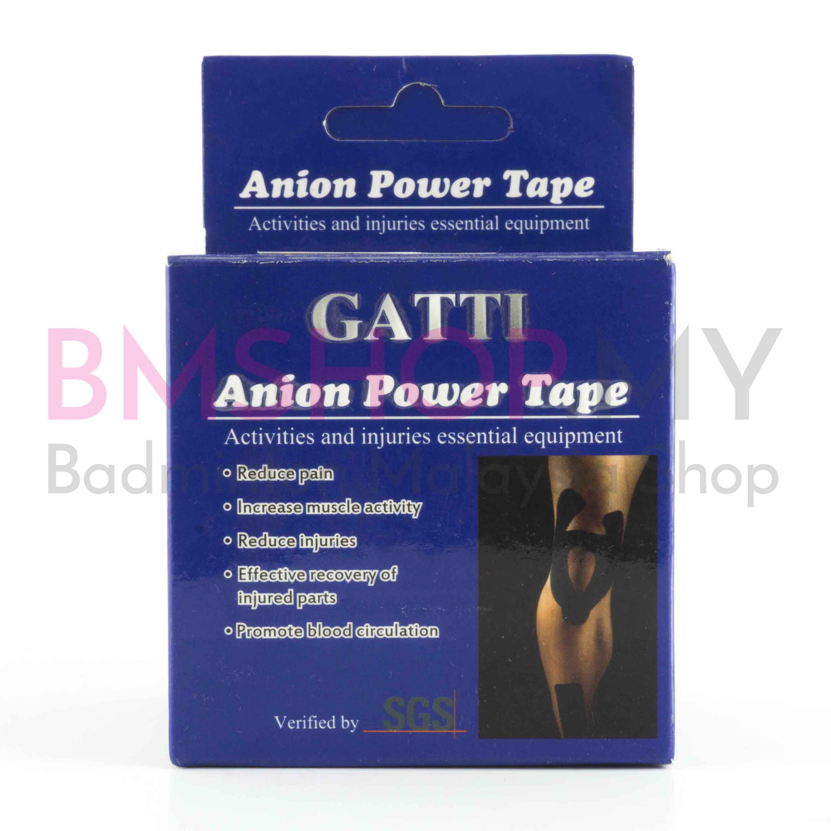 Gatti Kinesiology Tape, Anion Power Tape