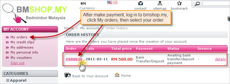 BMSHOP.MY - How to buy