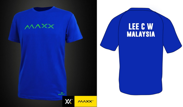 MAXX Shirt V3 with Printing Name and Team