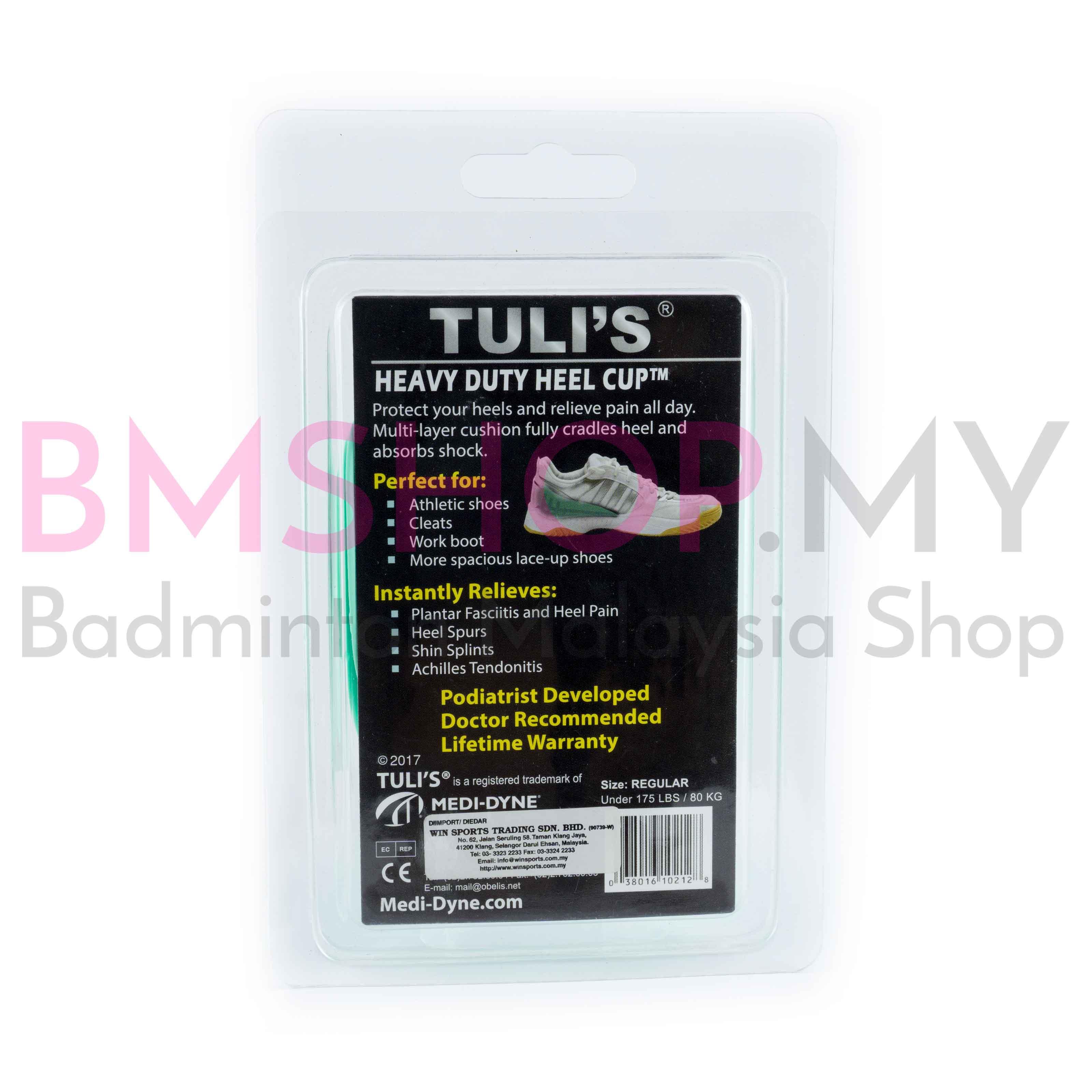 Tuli's Heavy Duty Heel Cup (White)