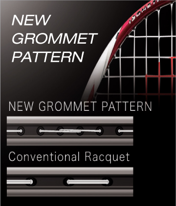 Yonex Technology New Grommet Pattern